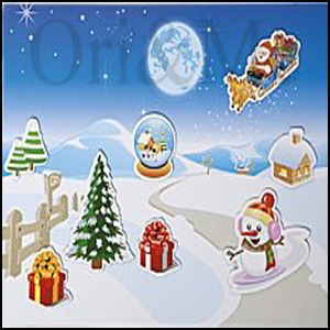 christmas-scene-set