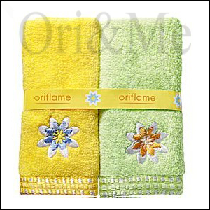 flower-hand-towel-set